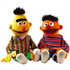 Bert and Ernie Hand Puppet Set