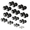 Sport-Thieme Compact Dumbbell Set, 2.5–30 kg