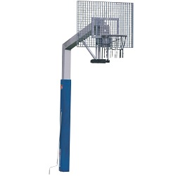 "Sport-Thieme® ""Fair Play Silent"" Basketball Unit with Height Adjustment"