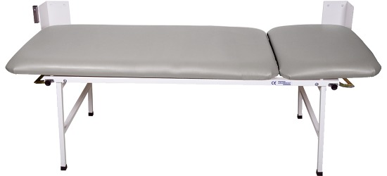 2-Piece Folding Examination Couch Light gray