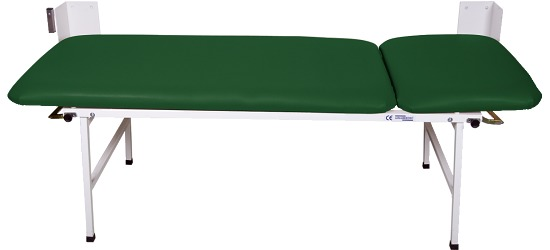 2-Piece Folding Examination Couch Pine green