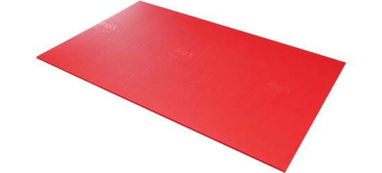 "Airex ""Atlas"" Exercise Mat Red"