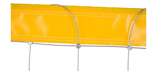 Beach Volleyball Net, made from Dralo® Without coating