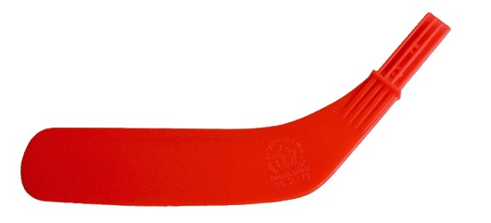 "Dom® Replacement Blade for ""Junior"" Hockey Sticks Red blade"