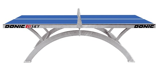 indoor pong table tennis cornilleau blue image ping