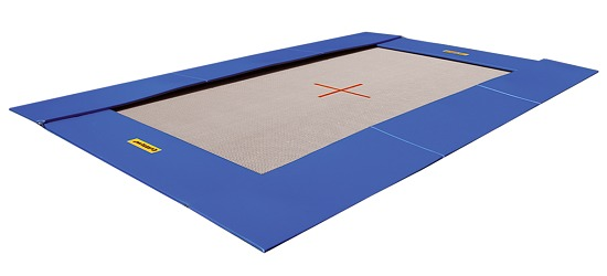 eurotramp therapy floor trampoline each sport. Black Bedroom Furniture Sets. Home Design Ideas