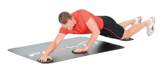 Flowin Training Mat with Accessories Sport