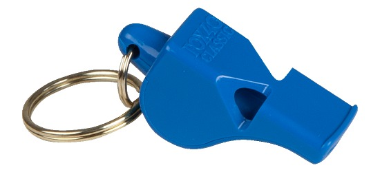 """FOX 40"" Referee Whistle Blue"
