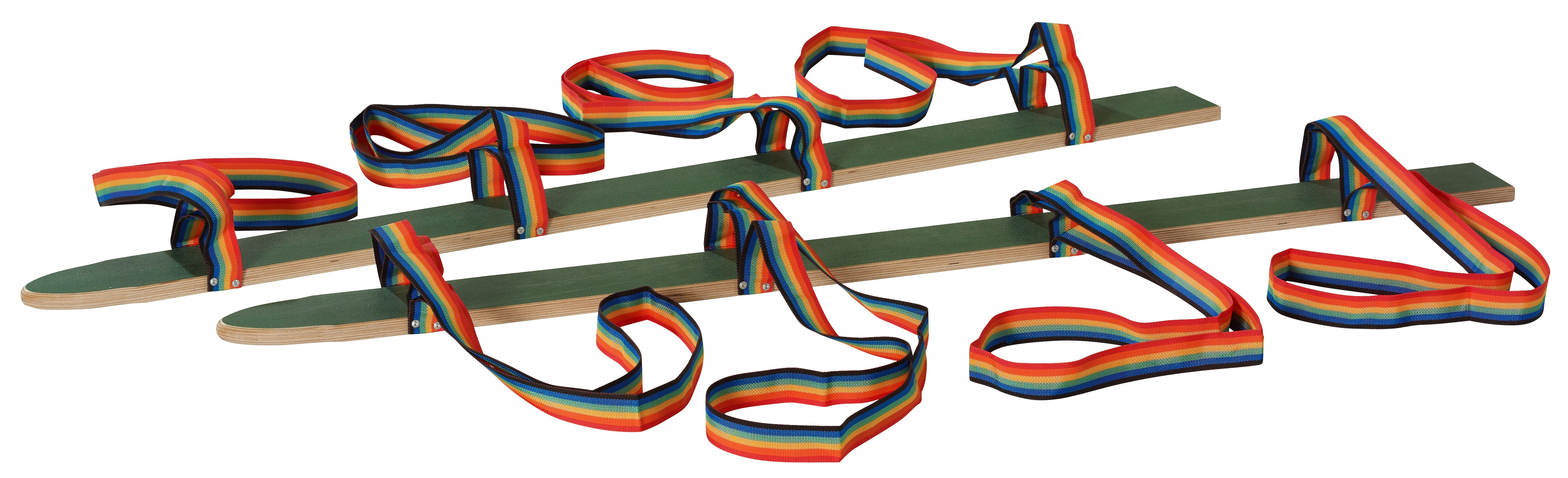 "Pedalo ""Hand/Foot Loop"" Dry Skis Length 160 cm, for 4 people"