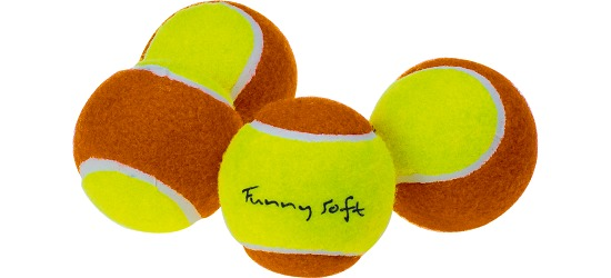 "Sport-Thieme ""Funny Soft"" Practice Balls Set of 4"