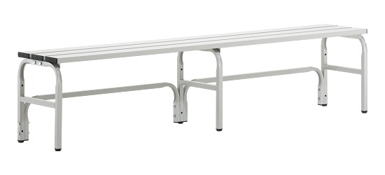 Sypro Wolf® Changing Benches for Wet Areas without Backrest 1.50 m, Without shoe shelf