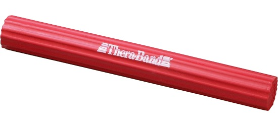 TheraBand Flexible Training Bar Red, approx. 1.5 kg
