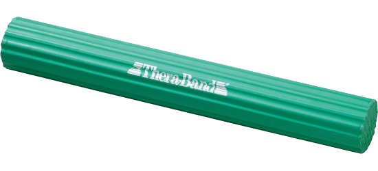 TheraBand Flexible Training Bar Green, approx. 2.5 kg