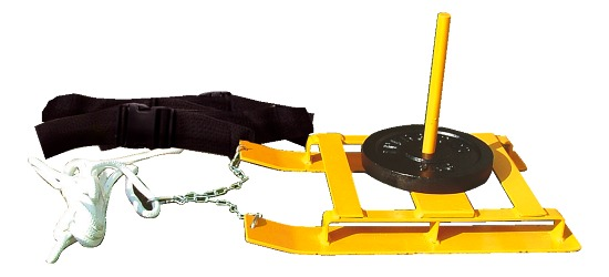 Weight Sled with Harness