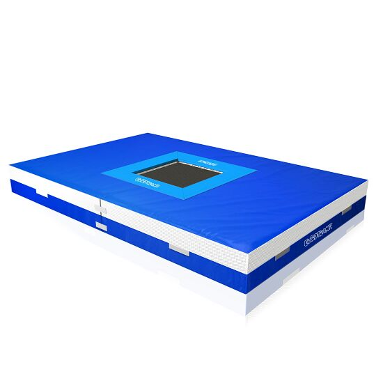 tumbling area with trampoline each 163 151839 sport
