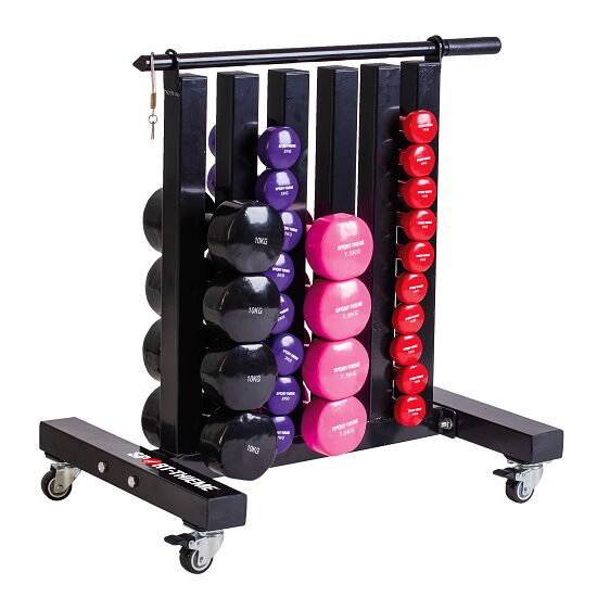 Home Gym Kit Out: Sport-Thieme® Mobile Storage Stand For Gym Weights