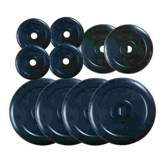 60 kg Set of Rubber Weight Discs