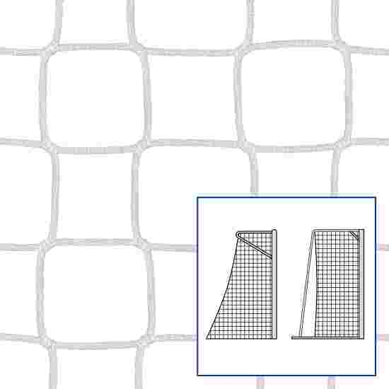 """80/100 cm"" Small Pitch / Handball Goal Net White, 4 mm"