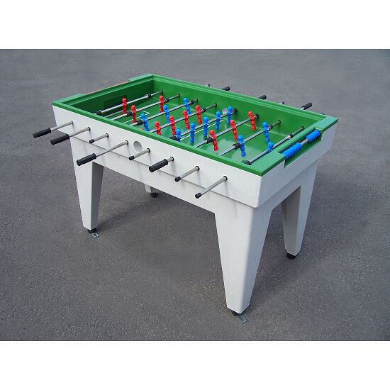 Acrylic Concrete Football Table Green