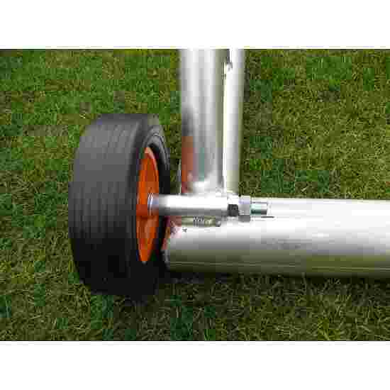 Additional Charges for Transport Wheels for Fully Welded Goals For goal frames made from rectangular tubing