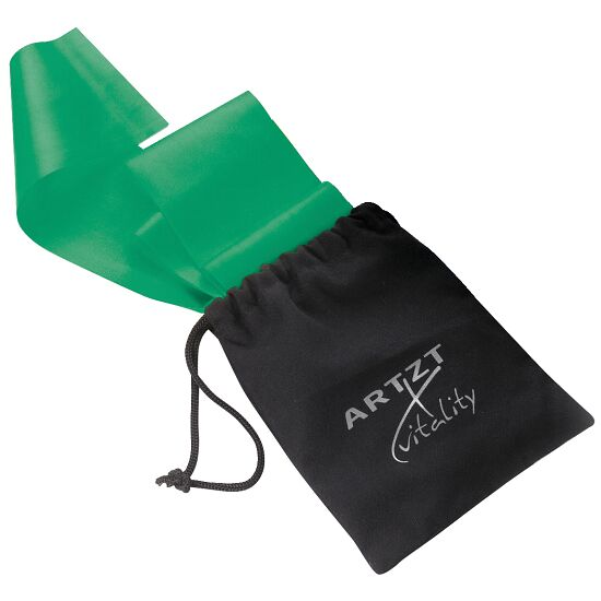 Artzt Vitality Latex-Free Exercise Band 2.5 m, Green, high