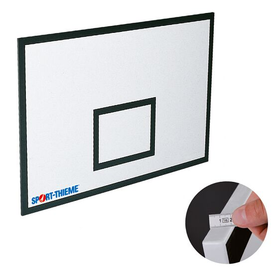 Basketball backboard made from MDF 90x60 cm, 21 mm
