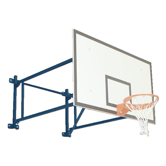 Basketball Wall Frame, Swivel Design Extends out 225 cm, Concrete wall