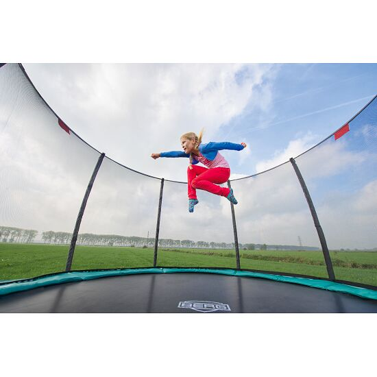 """Berg """"Champion"""" with Deluxe Safety Net Trampoline Green, 270 cm"""