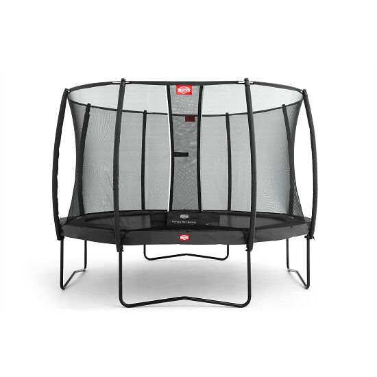 """Berg """"Champion"""" with Deluxe Safety Net Trampoline Grey, 380 cm"""