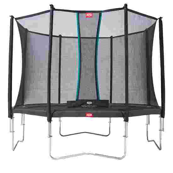 """Berg """"Favourite"""" Trampoline with Comfort Safety Net Grey edge cover, ø 3,30 m"""