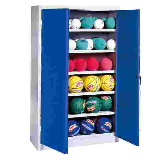 C+P Ball Cabinet Gentian blue (RAL 5010), Light grey (RAL 7035)