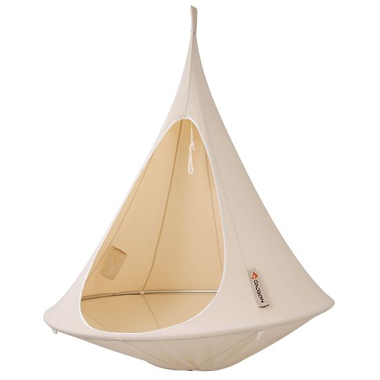 """""""Cacoon"""" Hanging Nest Natural white, Single, ø 1.5 m"""