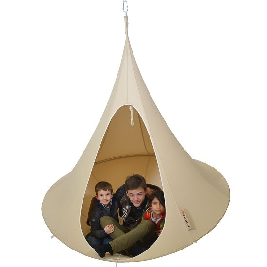 """""""Cacoon"""" Hanging Nest Natural white, Double, ø 1.8 m"""