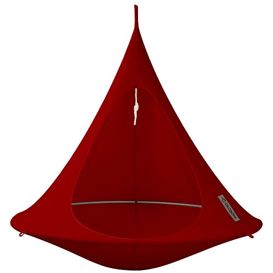 """""""Cacoon"""" Hanging Nest Red, Double, ø 1.8 m"""