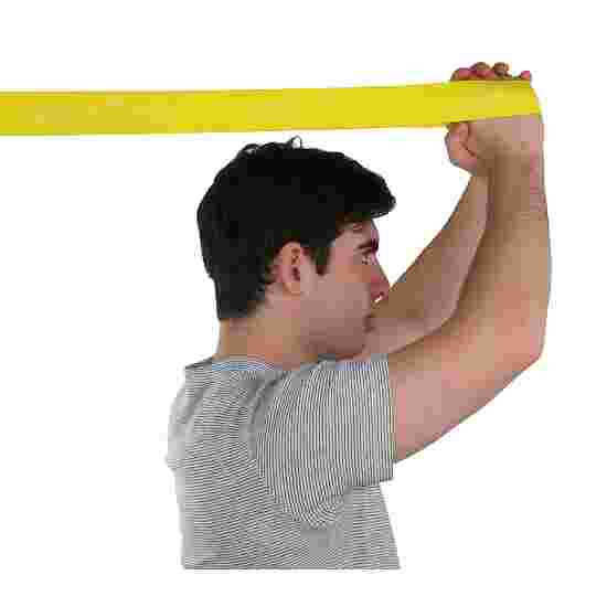 """CanDo Multi-Grip """"Exerciser Roll"""" Exercise Band Yellow, low"""