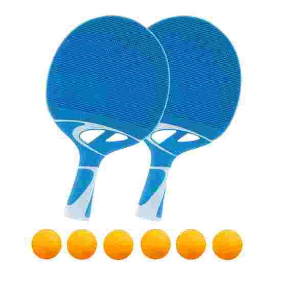 "Cornilleau ""Tacteo 30"" Table Tennis Set Orange balls"