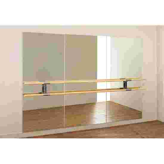 """Dinamica Ballet """"Amadeus"""" Ballet Mirror 3-m double barre and 2 holders, 3.00x2.00 m"""
