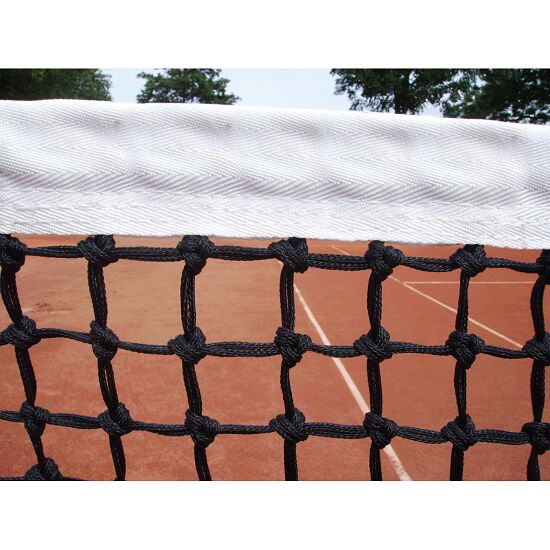 Double-Row Tennis Net with Tensioning Rope at Bottom
