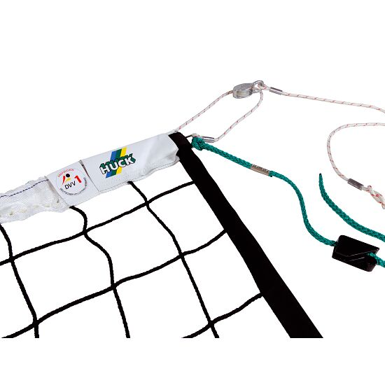 """DVV 1"" Volleyball Tournament Net with Guide Pulley"