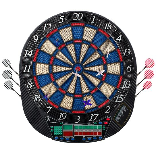 Electronic Dartboard With Darts Cricket Buy At Sport