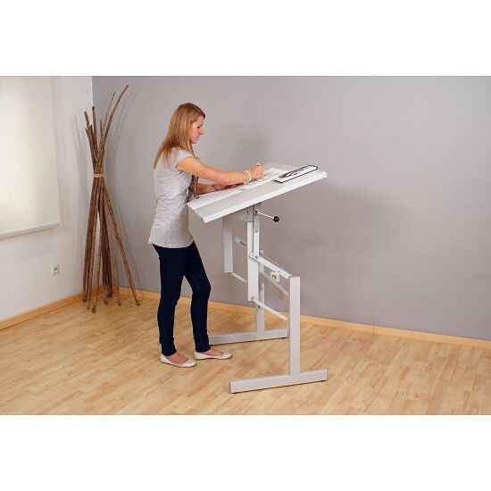 """Ergo ST"" Therapy and Workbench Table with corners, 80x60 cm"