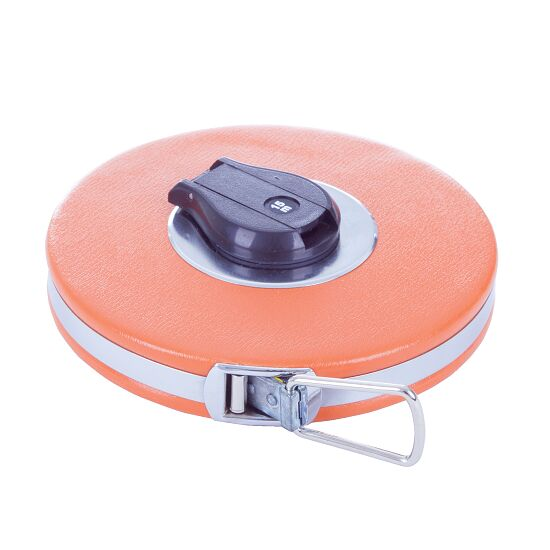 Fibreglass Tape Measure 20 m, Printed on both sides, 16 mm wide