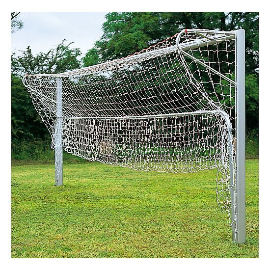 Folding aluminium ground frame, for standard-size football goals, 7.32x2.44 m