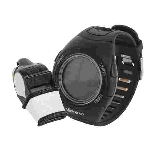 Fox 40 Whistle Watch and Sonik Blast Referee's Whistle Set