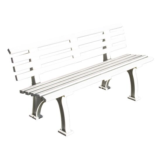 """Freiburg"" Tennis Court Bench with Backrest, 150 cm"