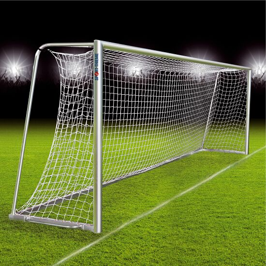 Fully Welded Football Goal Portable With Milled Net Sport