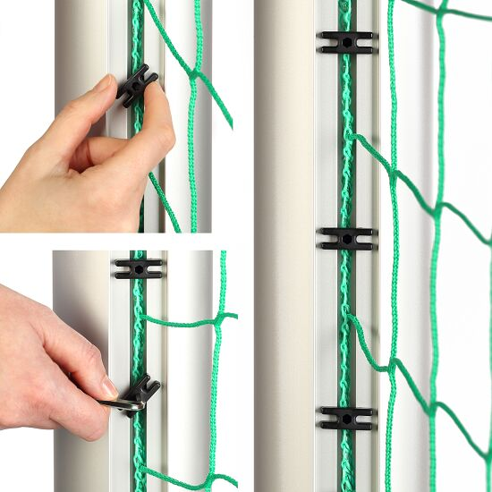 Fully Welded Youth Football Goal, 5x2m,  with 120x100-mm Oval Tubing Base Frame