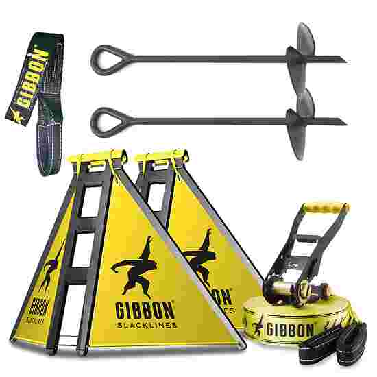 "Gibbon ""Independence Kit Classic"" Slackline Set"