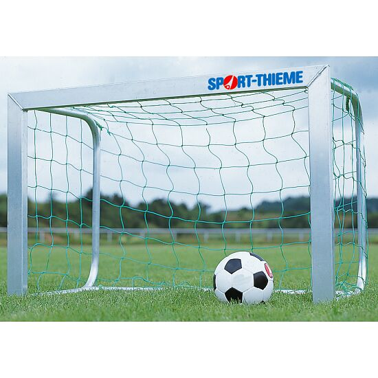 Goal Nets for Mini Goals, Mesh Width 10 cm For goals 1.80x1.20 m, goal depth 0.70 m, Green