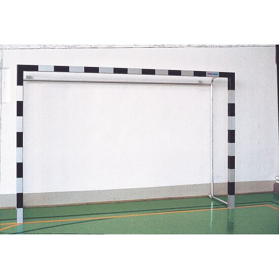 Indoor Aluminium Handball Goal With permanent net brackets